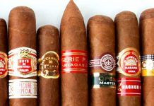 The Cuban tobacco