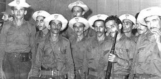 The struggle against bandits in Yaguajay